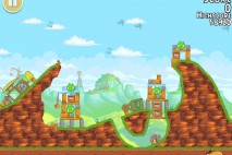 Angry Birds Free 3 Star Walkthrough Level 24-1
