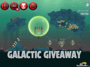 Angry Birds Star Wars 2 Level PR-20 Galactic Giveaway Coins