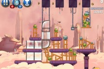 Angry Birds Star Wars 2 Rise of the Clones Level B4-10 Walkthrough