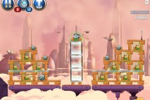 Angry Birds Star Wars 2 Rise of the Clones Level B4-11 Walkthrough