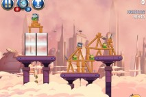 Angry Birds Star Wars 2 Rise of the Clones Level B4-12 Walkthrough