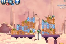 Angry Birds Star Wars 2 Rise of the Clones Level B4-13 Walkthrough