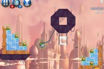 Angry Birds Star Wars 2 Rise of the Clones Level B4-14 Walkthrough