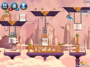 Angry Birds Star Wars 2 Rise of the Clones Level B4-16 Walkthrough