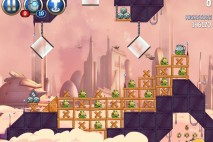 Angry Birds Star Wars 2 Rise of the Clones Level B4-17 Walkthrough