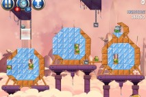 Angry Birds Star Wars 2 Rise of the Clones Level B4-19 Walkthrough