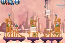 Angry Birds Star Wars 2 Rise of the Clones Level B4-5 Walkthrough