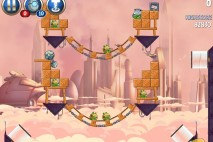 Angry Birds Star Wars 2 Rise of the Clones Level B4-8 Walkthrough