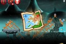 Angry Birds Star Wars 2 Rise of the Clones P4-6 Treasure Map Walkthrough