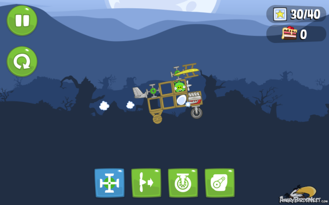 Bad Piggies Flying Car