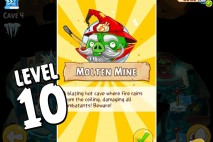 Angry Birds Epic Burning Plain Level 10 Walkthrough | Chronicle Cave 5 | Molten Mine