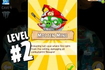 Angry Birds Epic Burning Plain Level 2 Walkthrough | Chronicle Cave 5 | Molten Mine