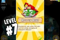 Angry Birds Epic Burning Plain Level 7 Walkthrough | Chronicle Cave 5 | Molten Mine