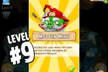 Angry Birds Epic Burning Plain Level 9 Walkthrough | Chronicle Cave 5 | Molten Mine