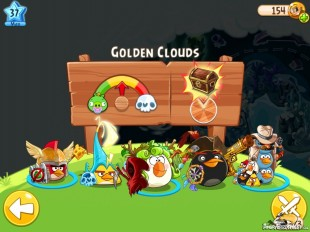 Angry Birds Epic Golden Clouds