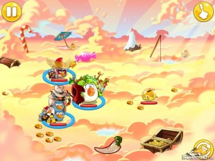 Angry Birds Epic Golden Clouds Battle