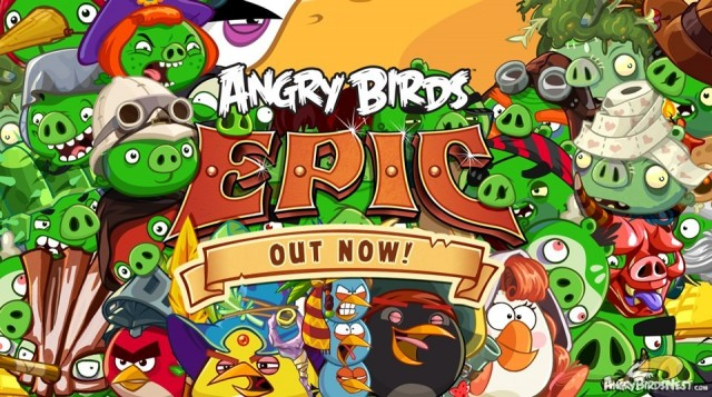 Angry Birds Epic Out Now Wallpaper