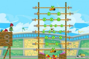 Angry Birds Friends Bird Cup Tournament Level 1 Week 108 Power Up & 3 Star Walkthroughs | June 9th 2014