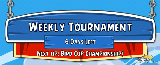 Angry Birds Friends Tournament Bird Cup Champtionship