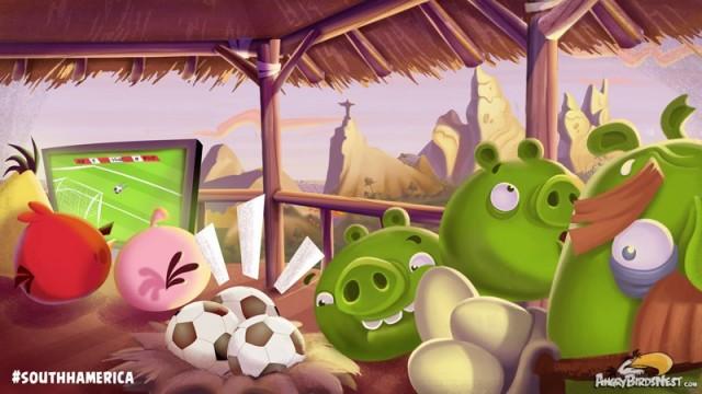 Angry Birds Rio South Hamerica Teaser Image