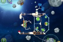 Angry Birds Space Beak Impact Level 8-17 Walkthrough