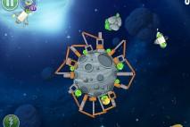 Angry Birds Space Beak Impact Level 8-19 Walkthrough