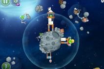 Angry Birds Space Beak Impact Level 8-21 Walkthrough
