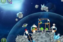 Angry Birds Space Beak Impact Level 8-23 Walkthrough