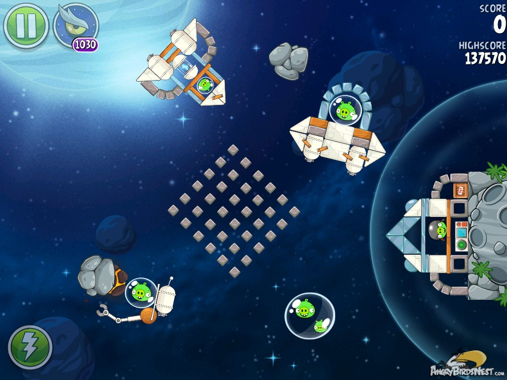 angry birds space lunar launcher - photo #25