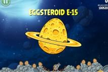 Angry Birds Space Golden Eggsteroid #15 (E-15) Walkthrough | Deep Impact