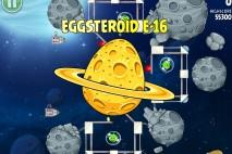 Angry Birds Space Golden Eggsteroid #16 (E-16) Walkthrough | Dawn