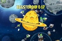 Angry Birds Space Golden Eggsteroid #17 (E-17) Walkthrough | Orion