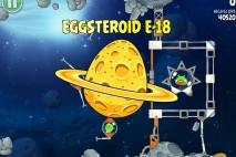 Angry Birds Space Golden Eggsteroid #18 (E-18) Walkthrough | OSIRIS-REx