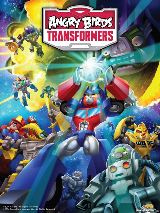 Angry Birds Transformers Poster and Teaser