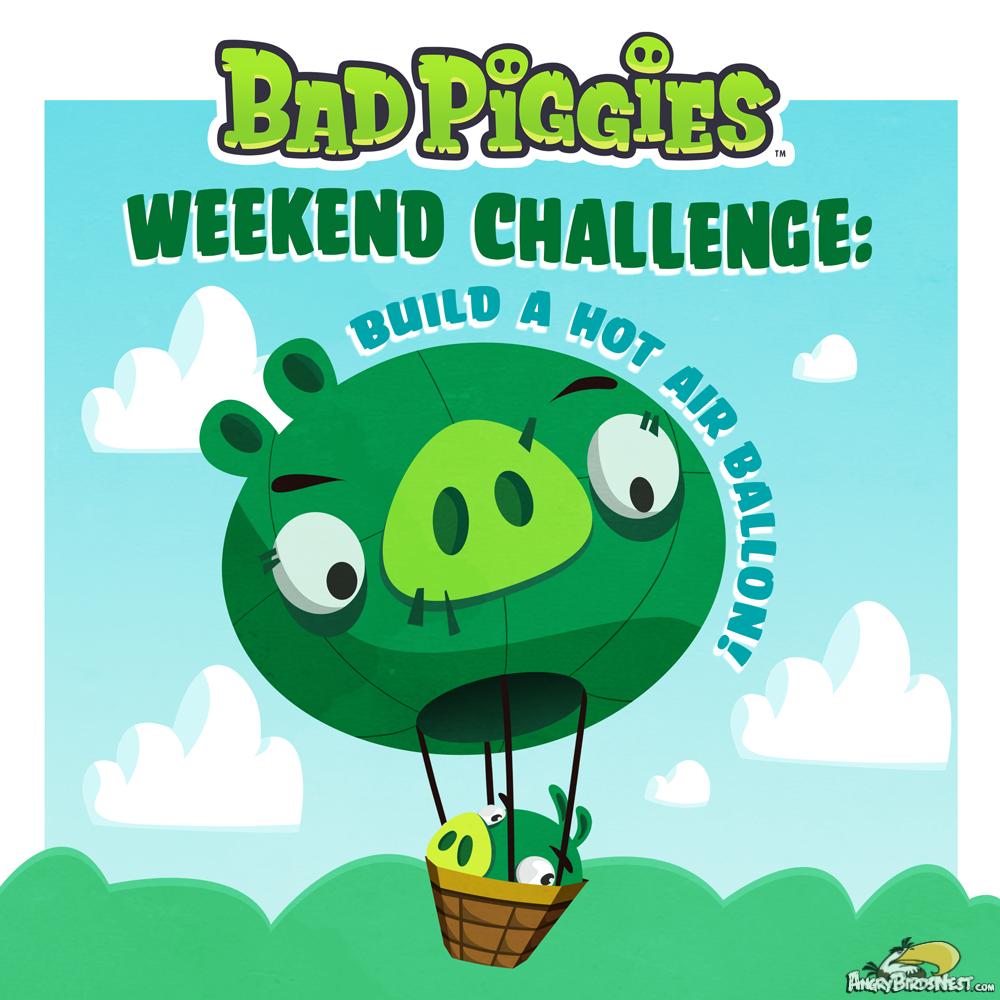 99 Red Balloons Bad Piggies Weekend Challenge June 1 14
