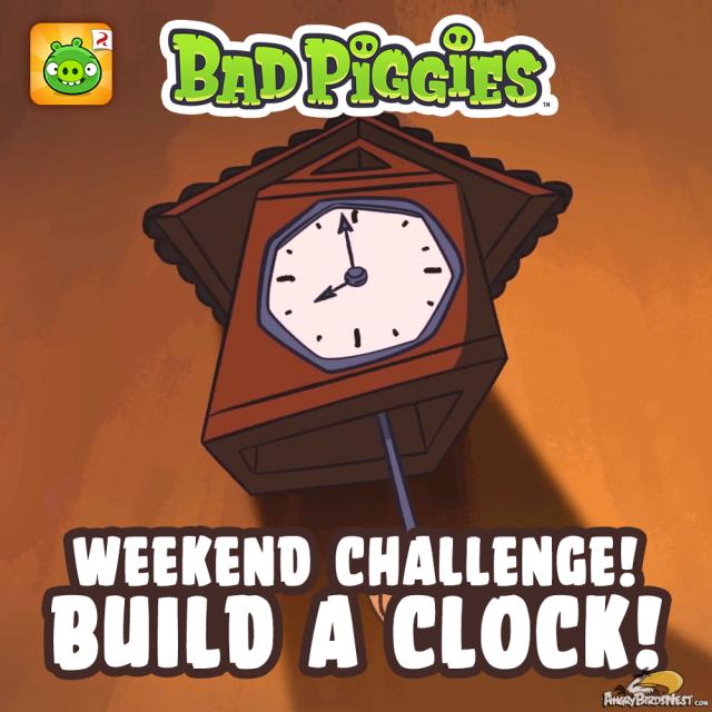 Bad Piggies Weekend Challenge 21 June 2014