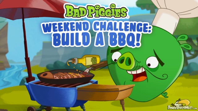 Bad Piggies Weekend Challenge 14 June 2014
