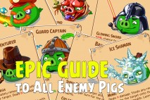 Angry Birds Epic Guide | Complete Breakdown of All Enemy Pigs & Bosses