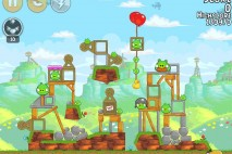 Angry Birds Flock Favorites Level 29-14 Walkthrough