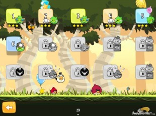 Angry Birds Flock Favorites Level Selection Image