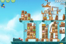 Angry Birds Rio Hidden Harbor Walkthrough Level #10