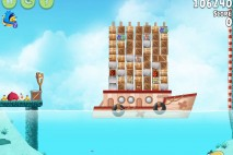 Angry Birds Rio Hidden Harbor Walkthrough Level #11