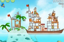 Angry Birds Rio Hidden Harbor Walkthrough Level #13