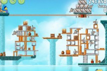Angry Birds Rio Hidden Harbor Walkthrough Level #14