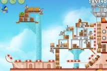 Angry Birds Rio Hidden Harbor Walkthrough Level #15