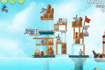 Angry Birds Rio Hidden Harbor Walkthrough Level #2