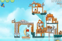 Angry Birds Rio Hidden Harbor Walkthrough Level #3