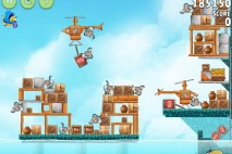Angry Birds Rio Hidden Harbor Walkthrough Level #5