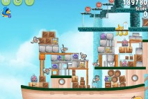 Angry Birds Rio Hidden Harbor Walkthrough Level #6