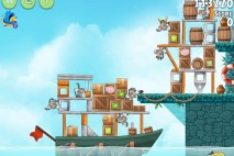 Angry Birds Rio Hidden Harbor Walkthrough Level #7